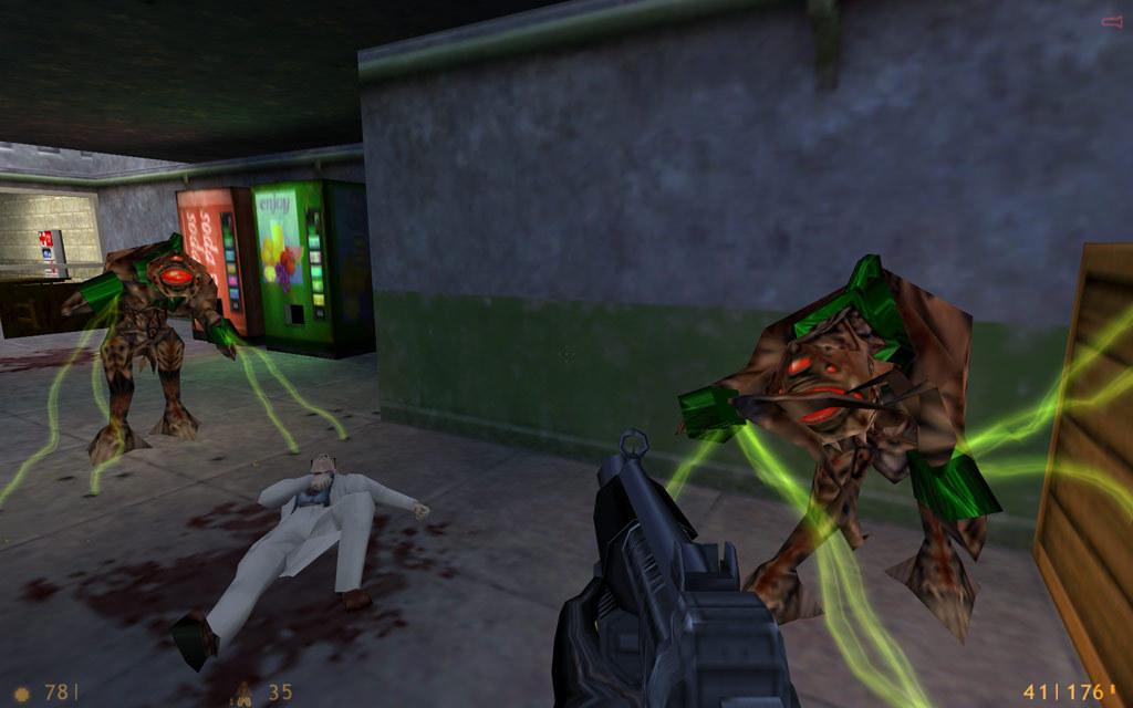 Nehoda v laboratóriu zapríčinila inváziu mimozemšťanov.