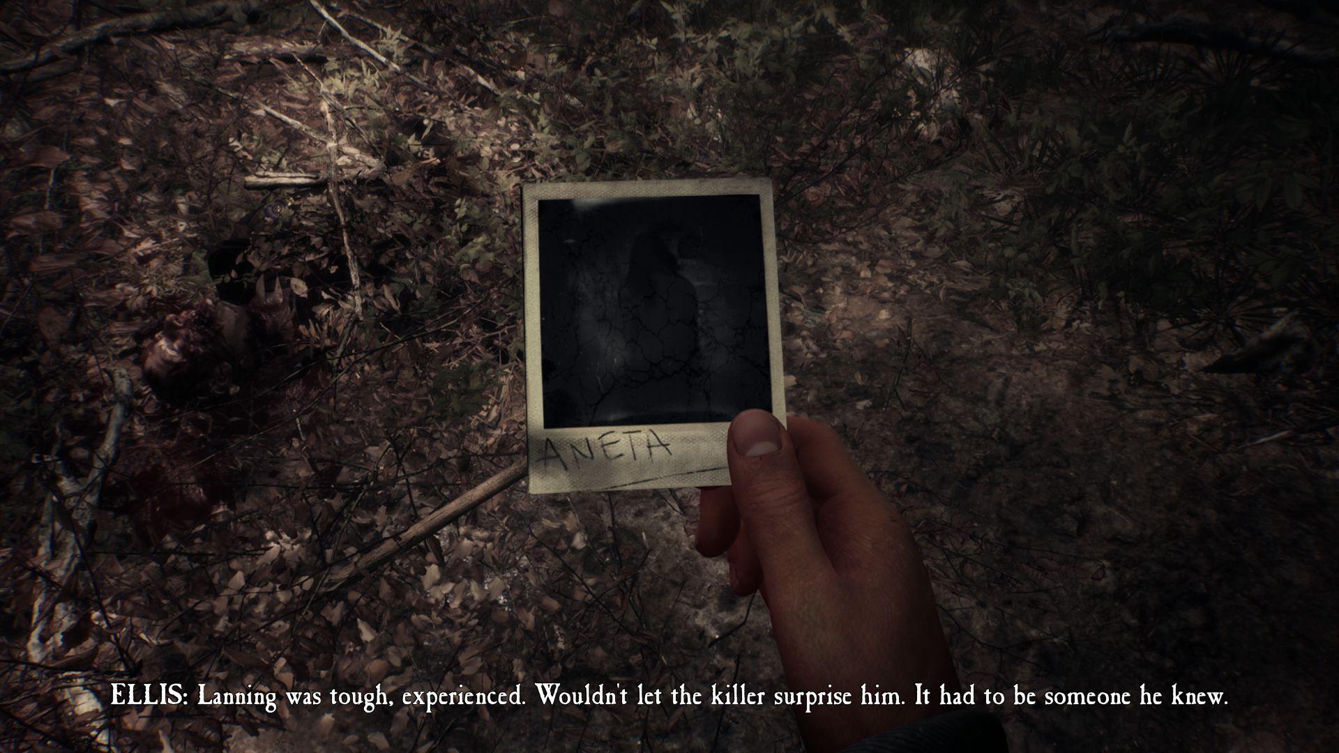 Dejová línia z kultového filmu The Blair Witch Project je v hre využívaná len okrajovo bez priamych nadväzností. Tvorcovia sa vydali svojou cestou a v hernom príbehu nás zaviedli späť do roku 1996, kedy sme sa vydali na pátraciu akciu po nezvestnom chlapcovi. V koži bývalého vojaka Ellisa sme z pohľadu z prvej osoby blúdili v rozsiahlom lese Black Hills. Sprevádzal nás prítulný nemecký ovčiak Bullet, ktorý nám neraz pomohol pri riešení hlavolamov.