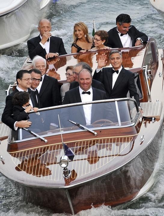 George Clooney i Amal Alamuddin już po ślubie!