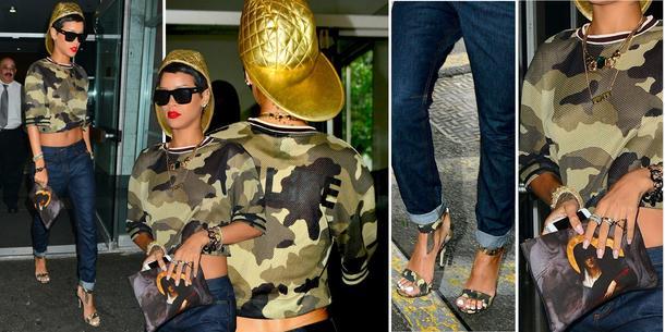 Best Look: Rihanna w River Island