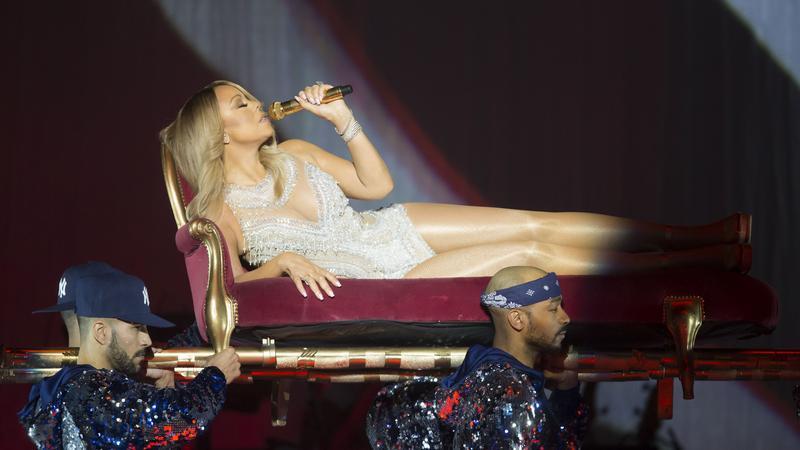Mariah Carey - Glasgow / Fotó: NORTHFOTO