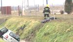 STRAVIČNA NESREĆA KOD SREMSKE MITROVICE Auto sleteo u kanal, poginuo vozač