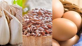 Żywność, która ma największy wpływ na zdrowie: czosnek, siemię lniane, jajka