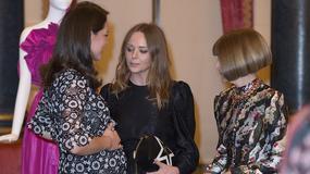 Księżna Kate Middleton na spotkaniu z Anną Wintour i Stellą McCartney. Jak się prezentowały?