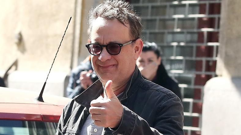 Tom Hanks Budapesten forgatja az Infernó jeleneteit /Fotó: Pozsonyi Zita