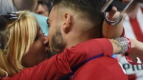 Piłkarz Atletico spotyka się z byłą miss