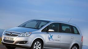 Opel Zafira ecoM - Seryjne na podwójnym gazie
