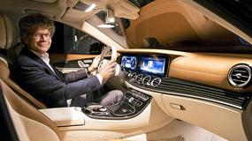 Mercedes klasy E: pierwsza odsłona wnętrza nowego modelu