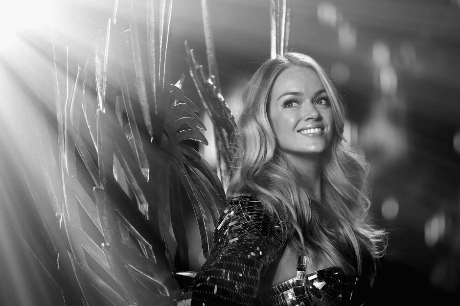 Lindsay Ellingson na pokazie Victoria's Secret / fot. Getty Images