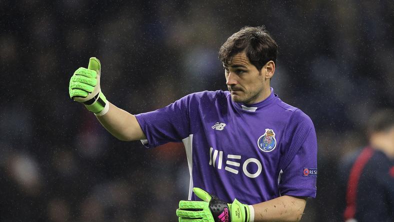 Casillast sem könnyű zavarba hozni /Fotó: AFP