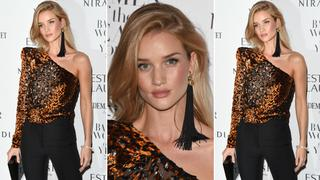 Best Look: Rosie Huntington-Whiteley w Saint Laurent