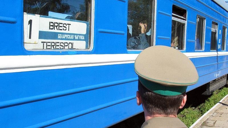 Pociąg Brześć-Terespol