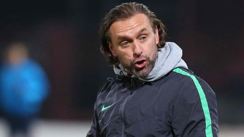 Hiába vezet a bajnokságban a Fradi, Doll dühöngött a vereség után, saját játékosain verte el a port /Fotó: Pozsonyi Zita