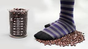Skarpetki z kawy, dla zdrowych stóp
