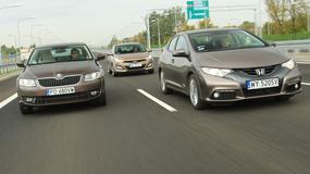 Honda Civic kontra Hyundai i30 i Skoda Octavia - atrakcyjne używane pięcioletnie kompakty