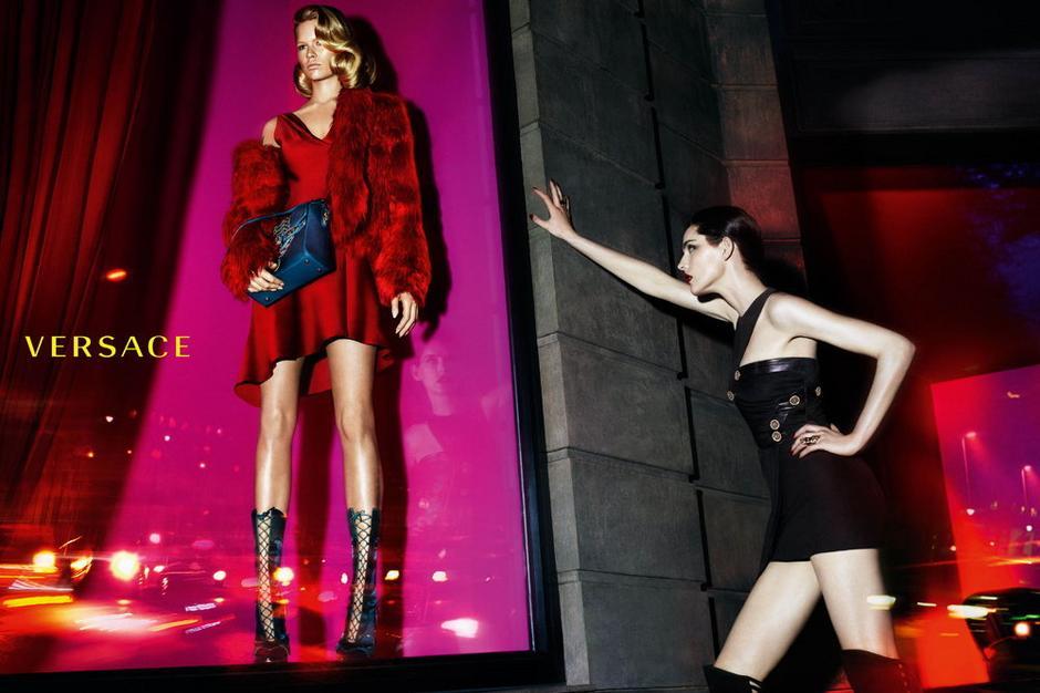 Kampania Versace / fot. Mert Alas & Marcus Piggott