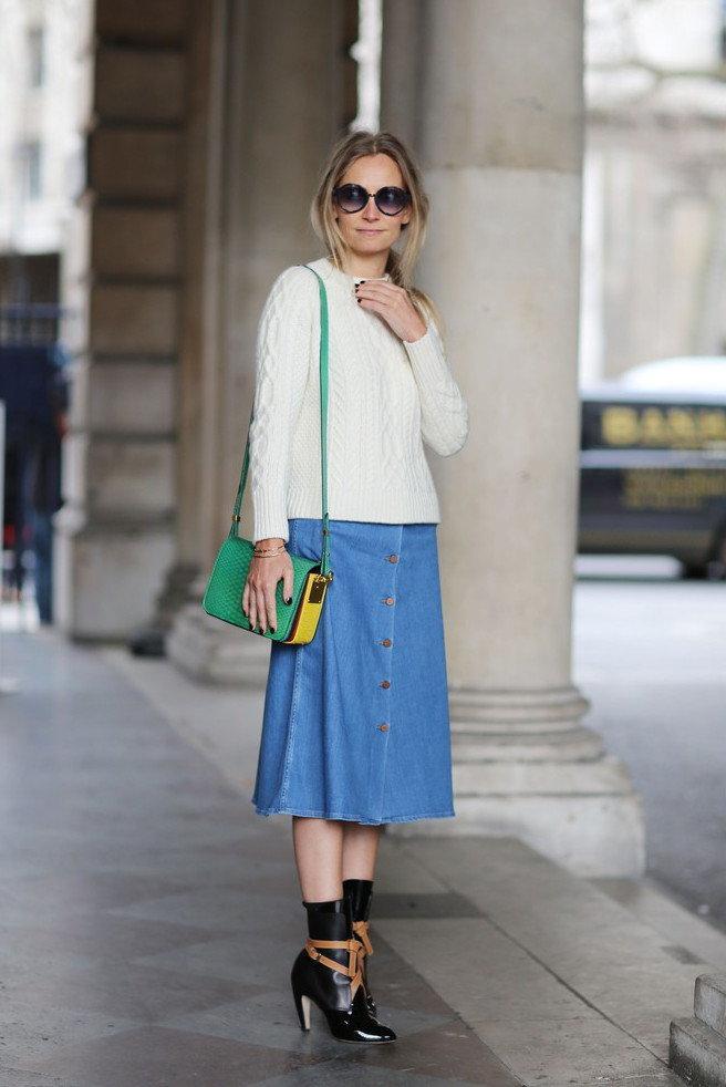Street Style Na London Fashion Week F W 2015 16 Vumag