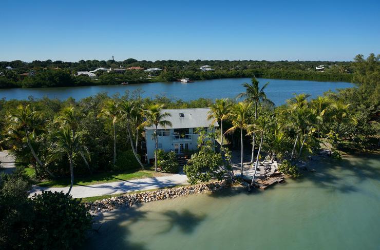 Meseszép a kilátás egy floridai magánszigetről /Fotó: Northfoto