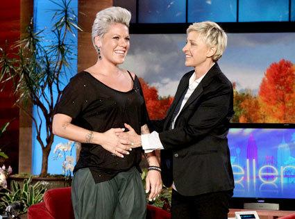 Pink w Ellen DeGeneres Show