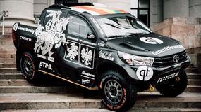Toyota Hilux Black Hawk V litewsko-polskiego teamu Pitlane przygotowana na Rajd Dakar