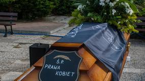 """Manifestacja w Gdańsku. """"To śmierć praw kobiet"""""""
