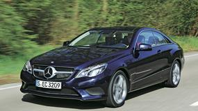 Test Mercedesa E 400 Coupe: auto ze studia fitness