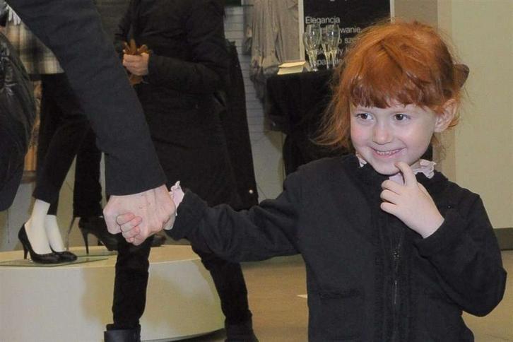 Oto córeczka znanej dziennikarki. Której?