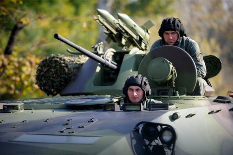 Pripadnici Vojske Srbije