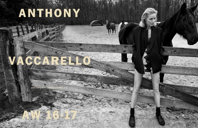Eva Herzigova gwiazdą kampanii Anthony Vaccarello jesień-zima 2016/17