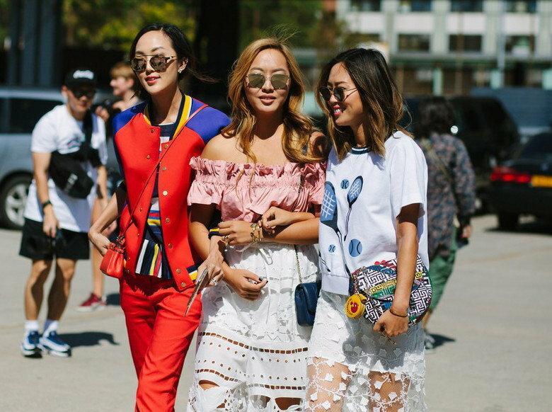 street style NYFW - inspiracje na jesień 2015