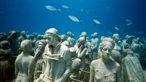 Podwodne Muzeum Atlantyku na Lanzarote. Rzeźby, które zmienią się w rafę koralową
