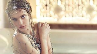 Natalia Vodianova w kampanii Guerlain Shalimar Souffle