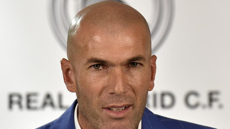 Zidane lett a Real vezetőedzője /Fotó: AFP