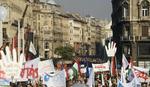 Protest mađarskih zdravstvenih radnika u Budimpešti