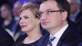 Zbigniew Ziobro pojawił się na gali z żoną. Dawno niewidziana Patrycja Kotecka