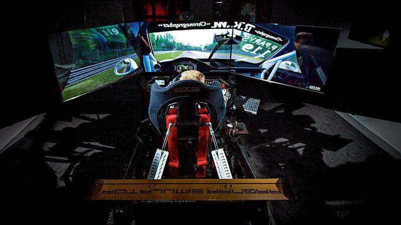 Kierowca wyścigowy 2.0 - treningi na symulatorze