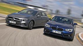 Nowy Mercedes A180 d kontra BMW 116d - kto tu jest gwiazdą?