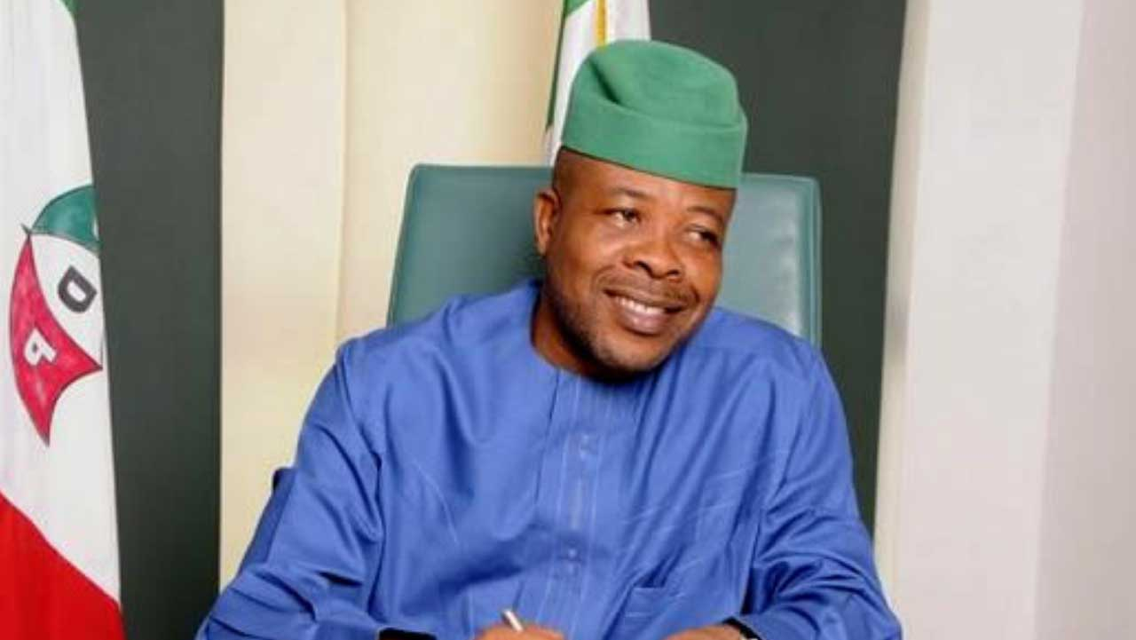 Imo Governor Emeka Ihedioha sacked from government house by the apex court [This Day]