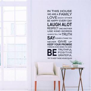 Zainspiruj się: napis na ścianie