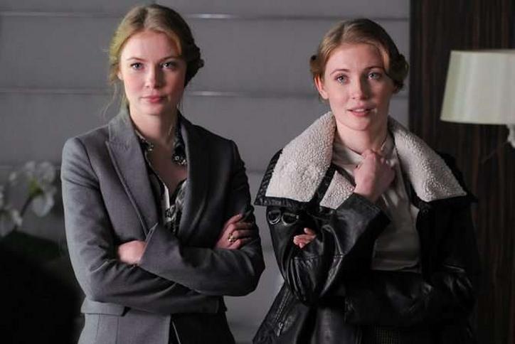 Aktorki bliźniaczki mają siostry... także bliźniaczki