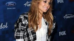 Jennifer Lopez na imprezie American Idol