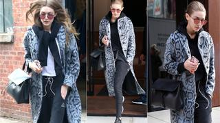Best Look: Gigi Hadid w płaszczu Elizabeth and James