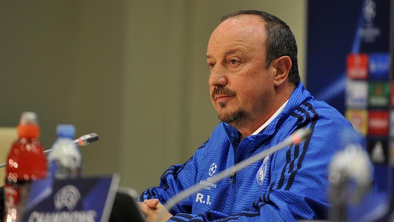 Rafael Benítez a Newcastle edzője lesz /Fotó: AFP