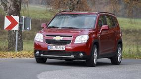 Chevrolet Orlando - tańsza wersja Zafiry