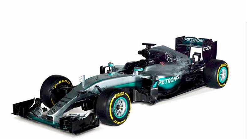 A Mercedes is megmutatta új gépét / Fotó: Facebook-Mercedes AMG Petronas