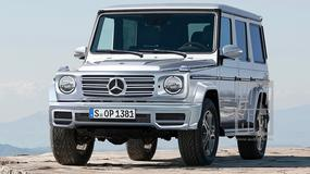 Nowe Mercedesy: klasa G i GLG - kanciaste gwiazdy