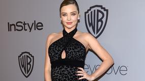 Miranda Kerr błyszczała na Złotych Globach. Modelka już niedługo po raz drugi zostanie mamą!