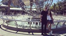 Bajkowe wakacje Szczęsnych w Los Angeles