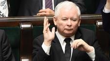 """Zaskakująca rozmowa """"Bilda"""" z Kaczyńskim. Mówi o Merkel, Tusku i uchodźcach"""