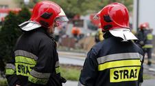 Pożar w hotelu w Karpaczu. Panika i ewakuacja
